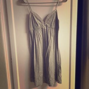 Heritage 1981 Gray Sleeveless Short Dress S